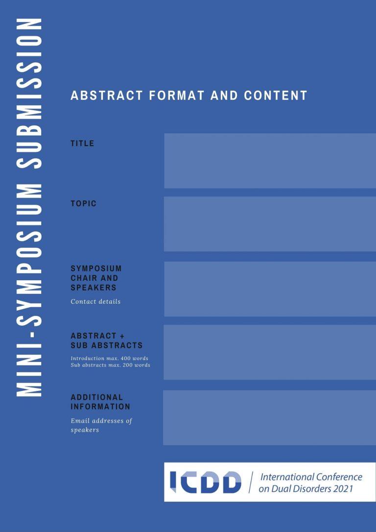 Symposium submission